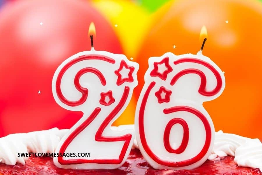 26th birthday wishes for wife