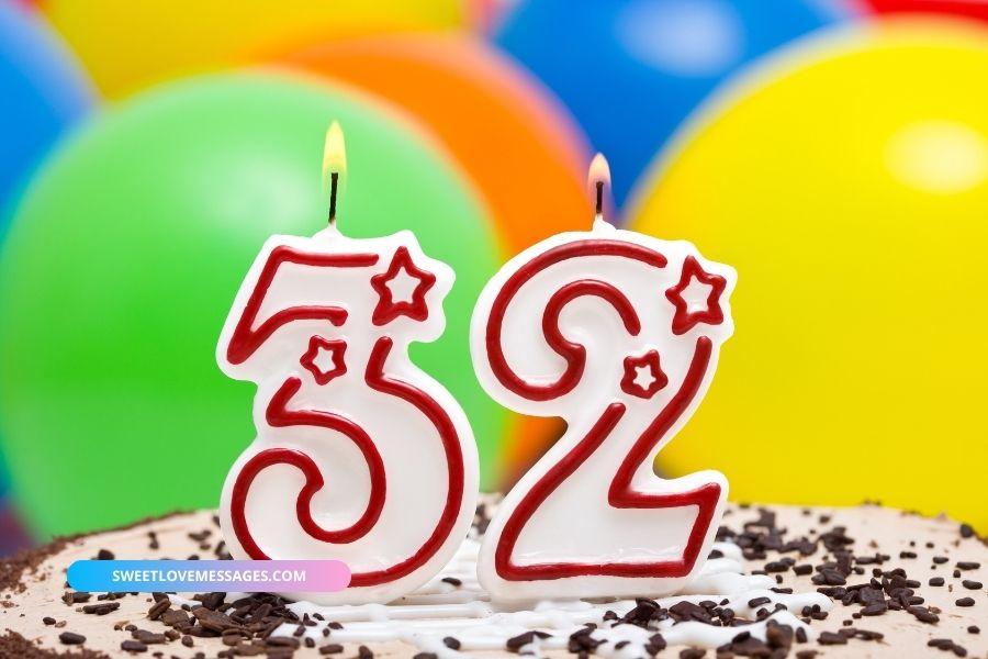 32nd Birthday Wishes for Boyfriend