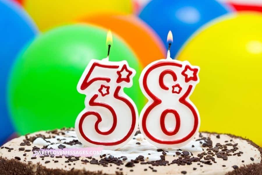 38th Birthday Wishes for Boyfriend