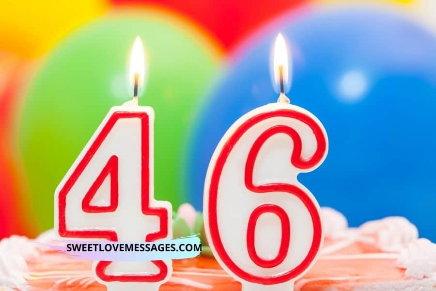 Happy 46th Birthday Wishes for Girlfriend
