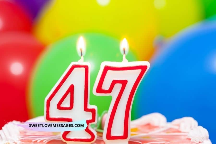 Happy 47th Birthday Wishes for Girlfriend