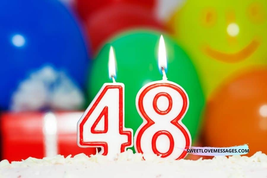 Happy 48th Birthday Wishes for Girlfriend