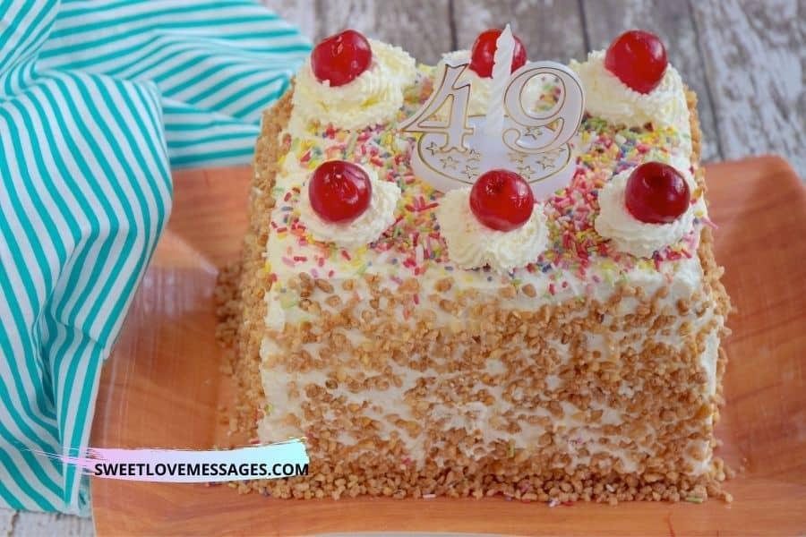 49th Birthday Wishes for Boyfriend