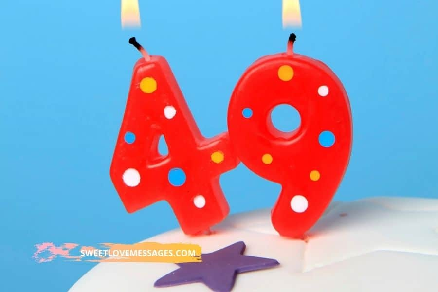 Happy 49th Birthday Wishes for Girlfriend