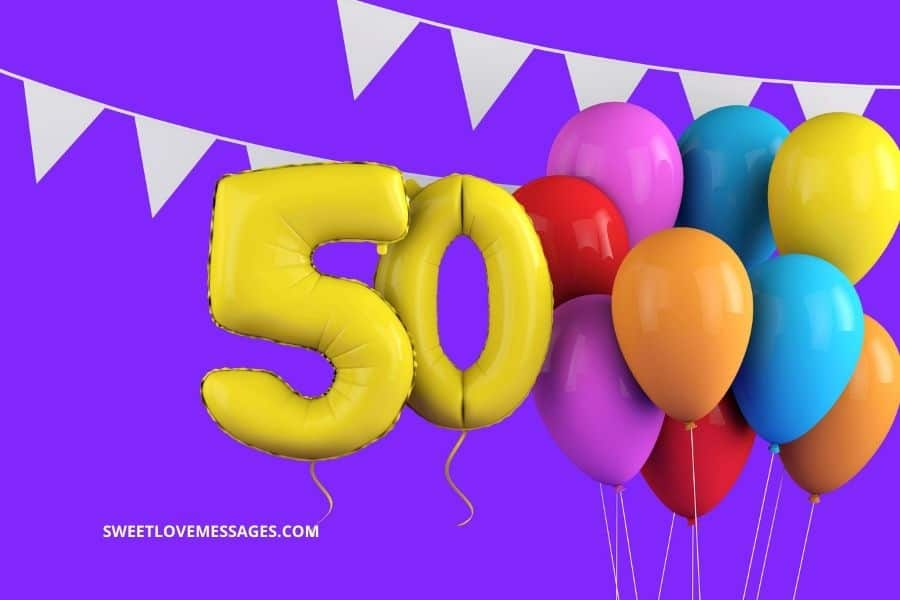 Happy 50th Birthday Boss