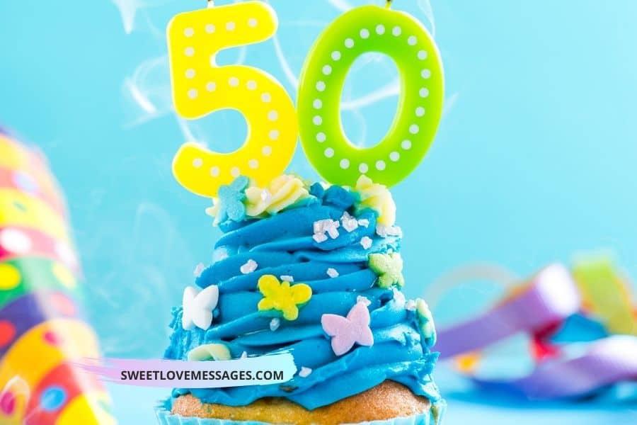 Happy 50th Birthday Nephew Wishes