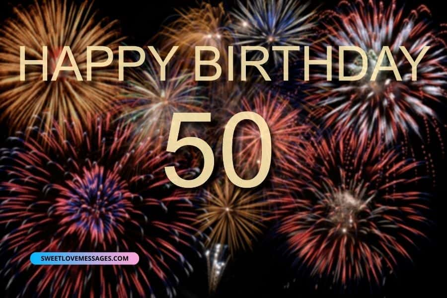 Happy 50th Birthday Wishes for Girlfriend