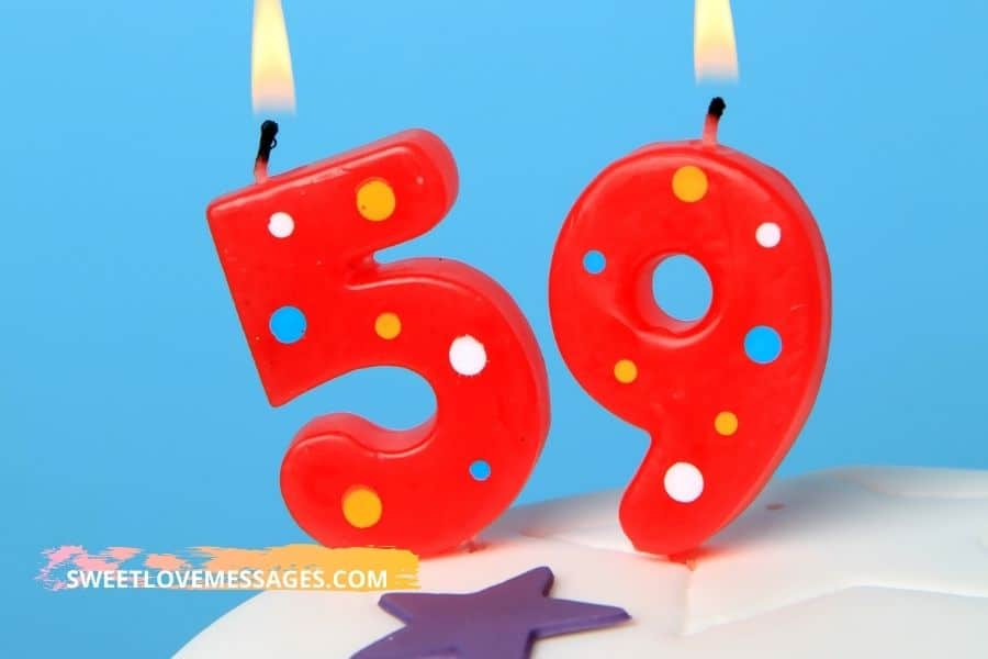 Happy 59th Birthday Wishes for Girlfriend