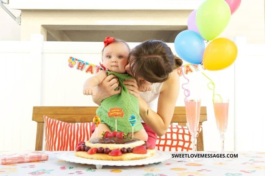 5th month birthday wishes for baby girl