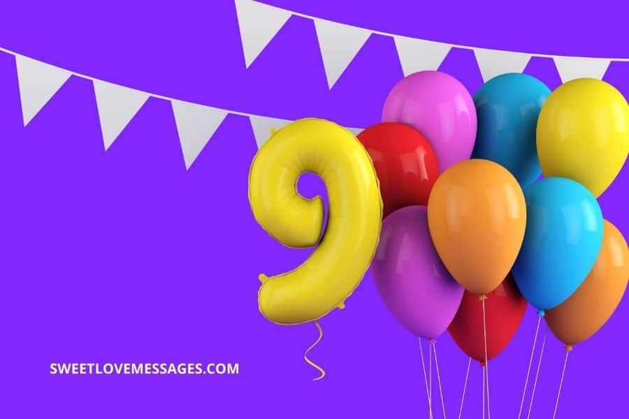 Happy 9th Birthday Nephew Wishes