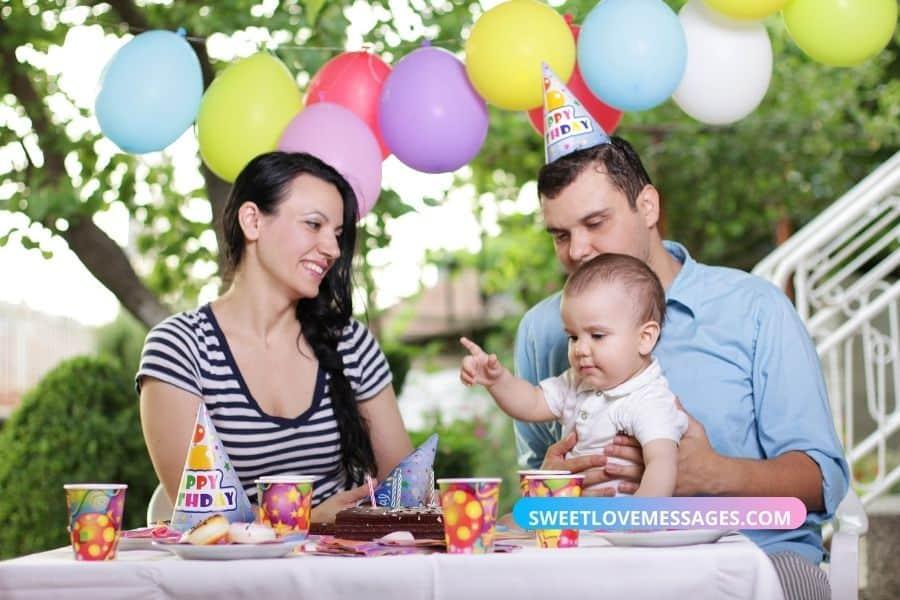 9th month birthday wishes for baby boy