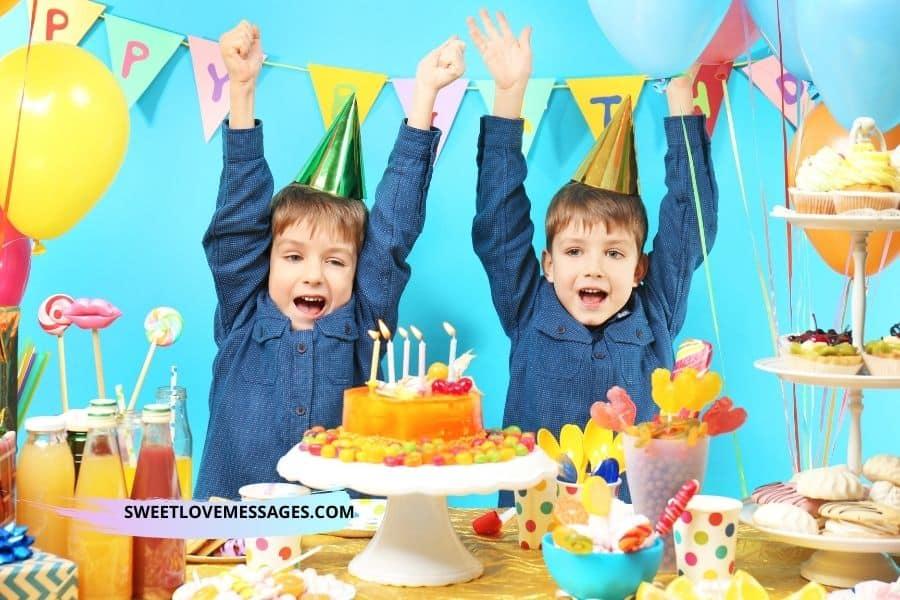 Happy Birthday Twin Nephews