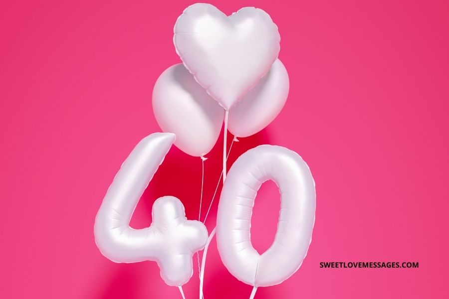 Countdown to 40th Birthday