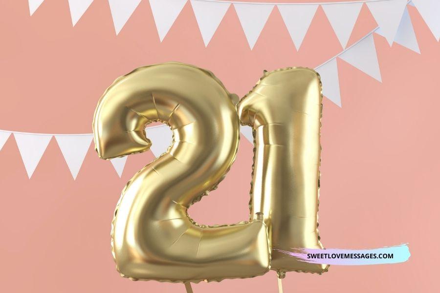 21st Birthday Wishes for Boyfriend