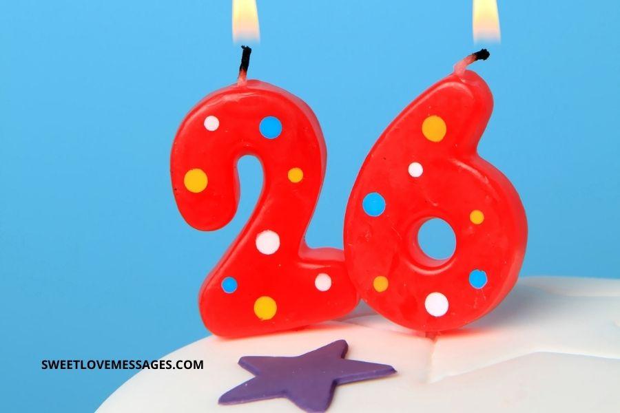 Happy 26th Birthday Husband Wishes