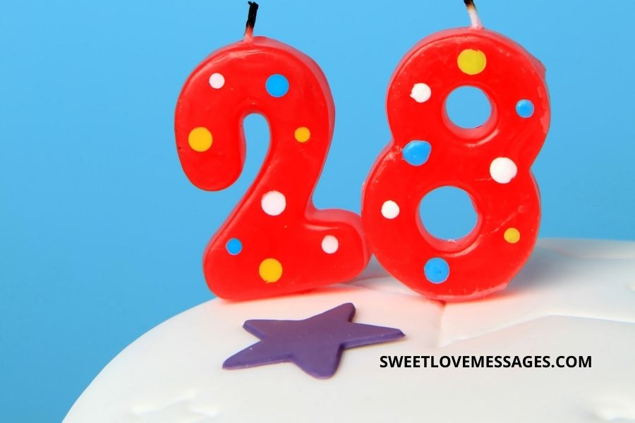 28th birthday wishes for husband