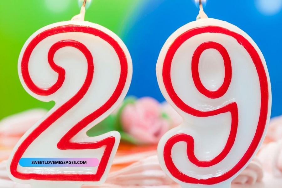29th birthday wishes for husband