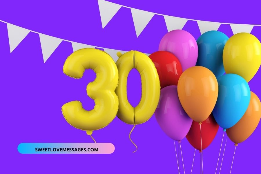 30th birthday wishes for Husband