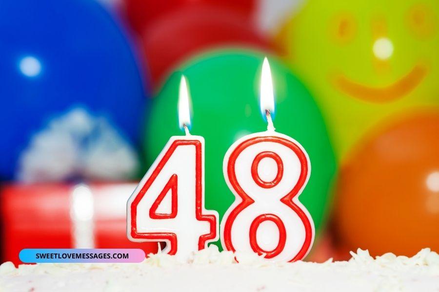 Happy 48th Birthday Wishes for Boyfriend