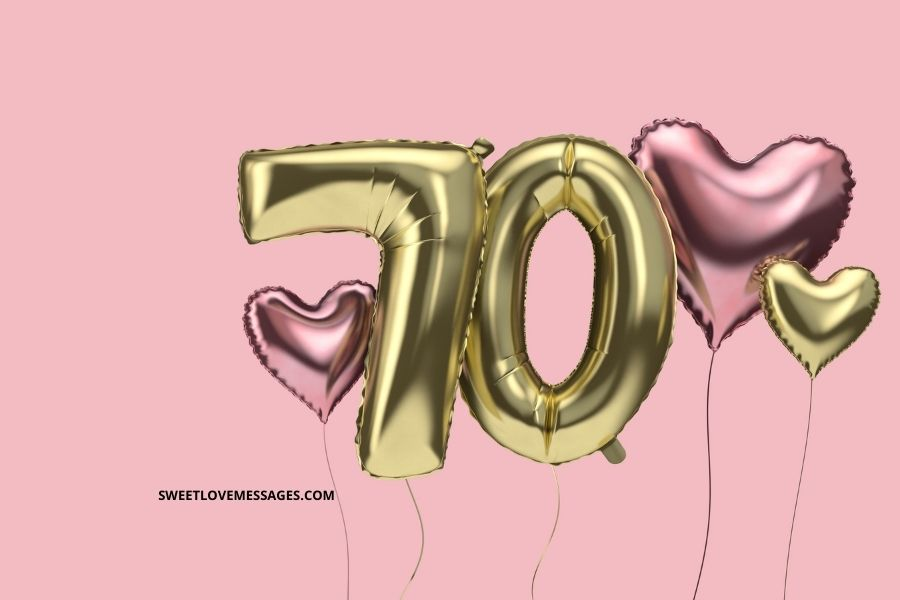 Happy 70th Birthday Quotes for Wife