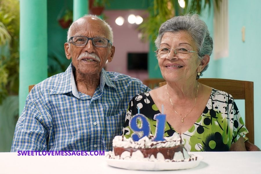 91st birthday wishes for wife