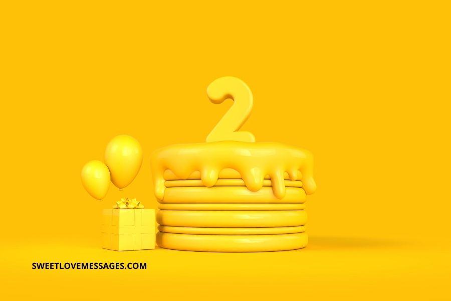 Happy Belated 2nd Birthday