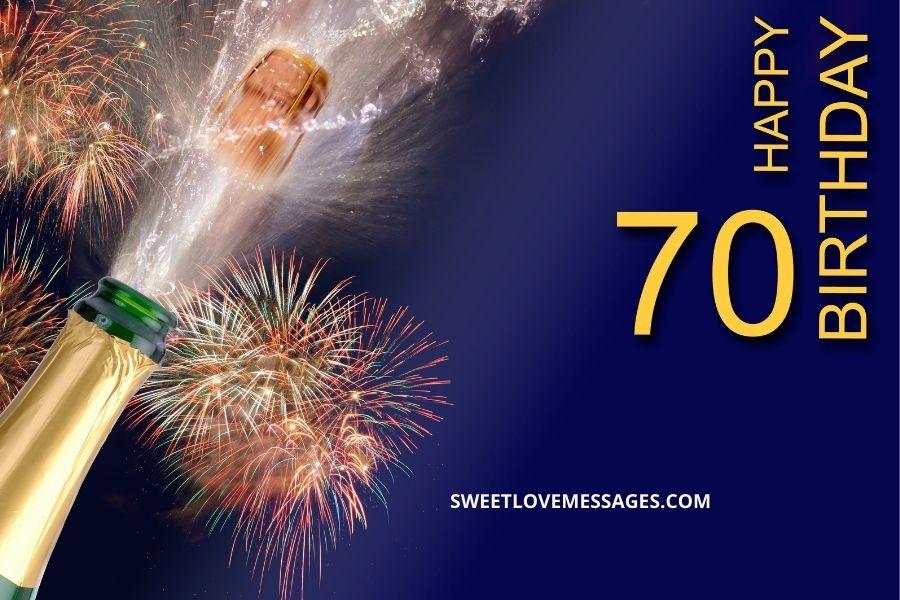 Happy belated 70th birthday