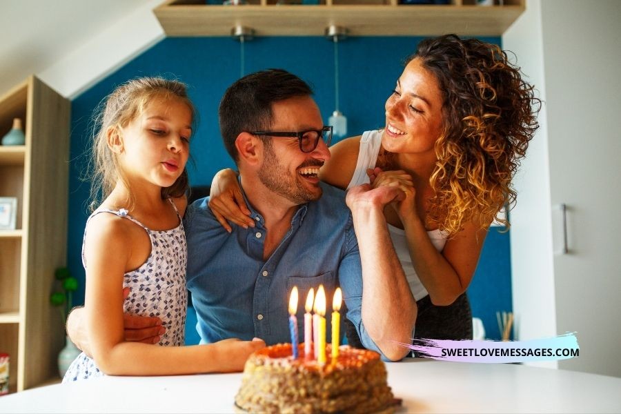 Birthday wishes for husband after baby