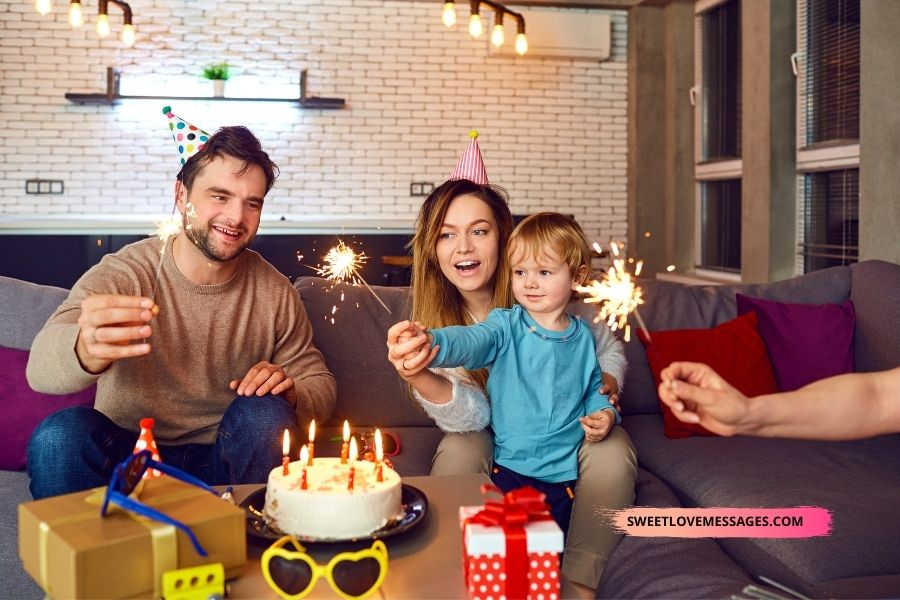 Congratulations to Parents on Their Son's Birthday