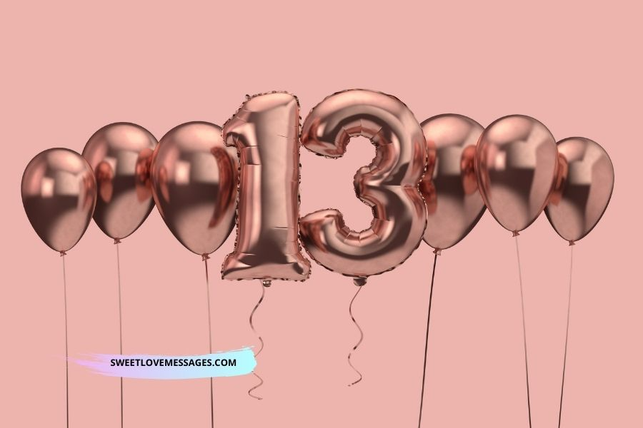 Happy 13th Birthday Wishes for Daughter