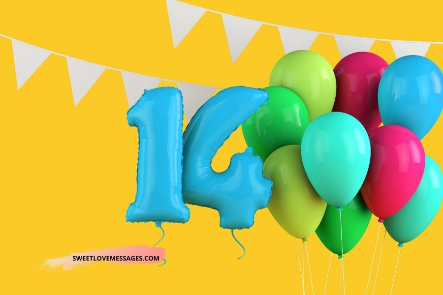 Happy 14th Birthday Wishes for Daughter