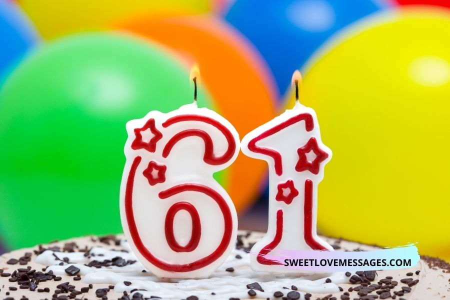 Happy 61st Birthday Wishes for Husband