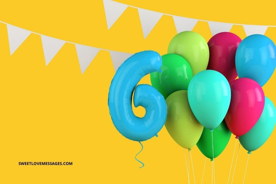 Happy 6th Birthday Wishes for Son