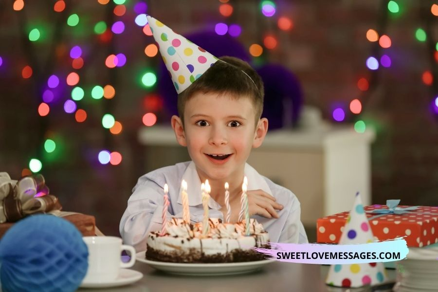 Birthday Wishes for Young Son