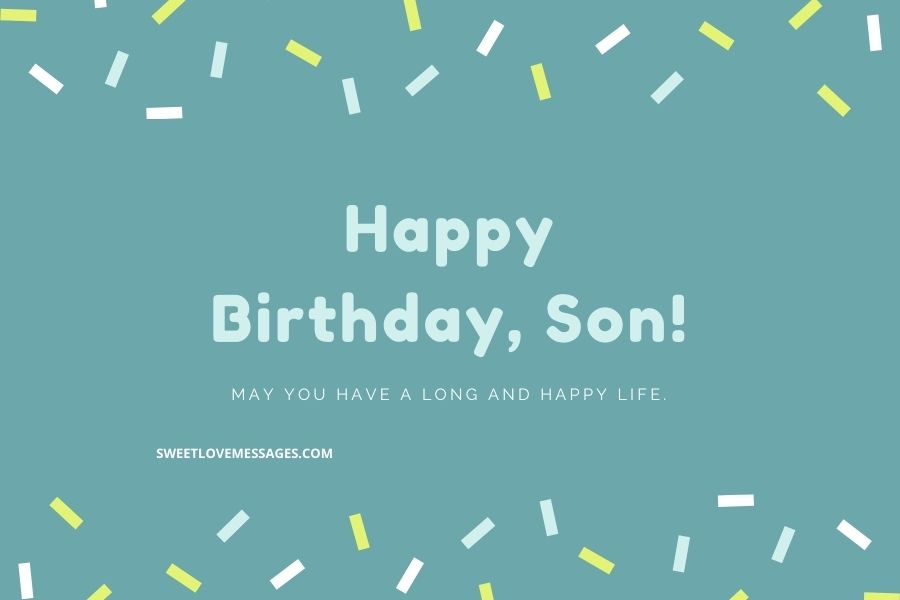 Sister's Son Birthday Wishes Images