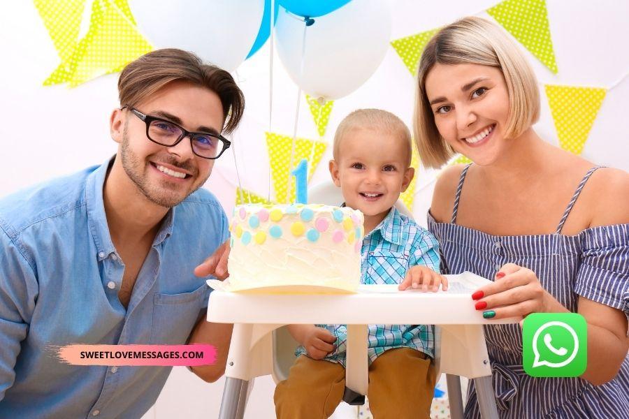 Whatsapp Status Birthday Wishes for Son