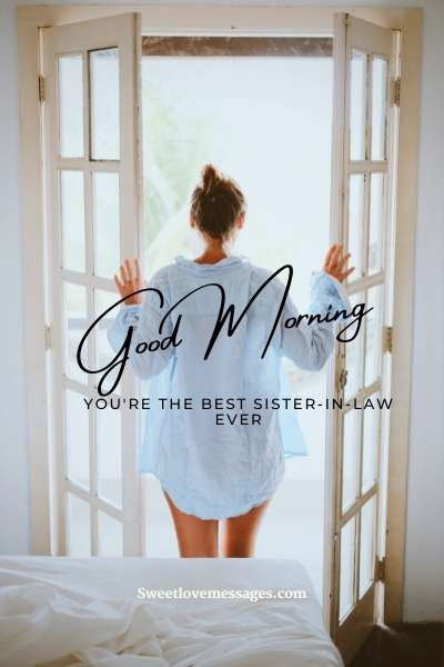 Good Morning Messages for My Sister-in-law