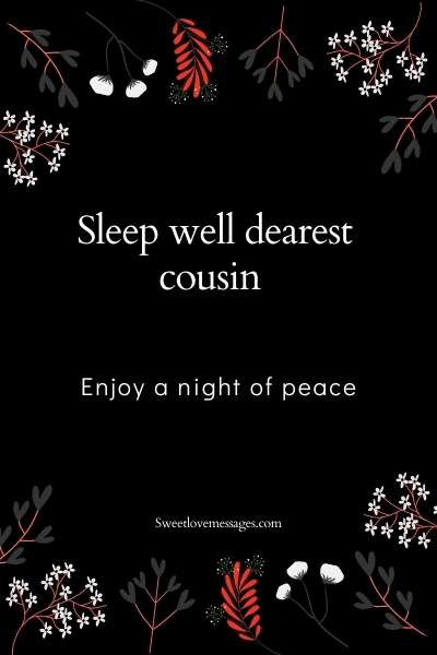 Good Night Cousin Wishes