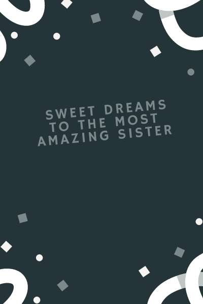 Good Night Sister Status