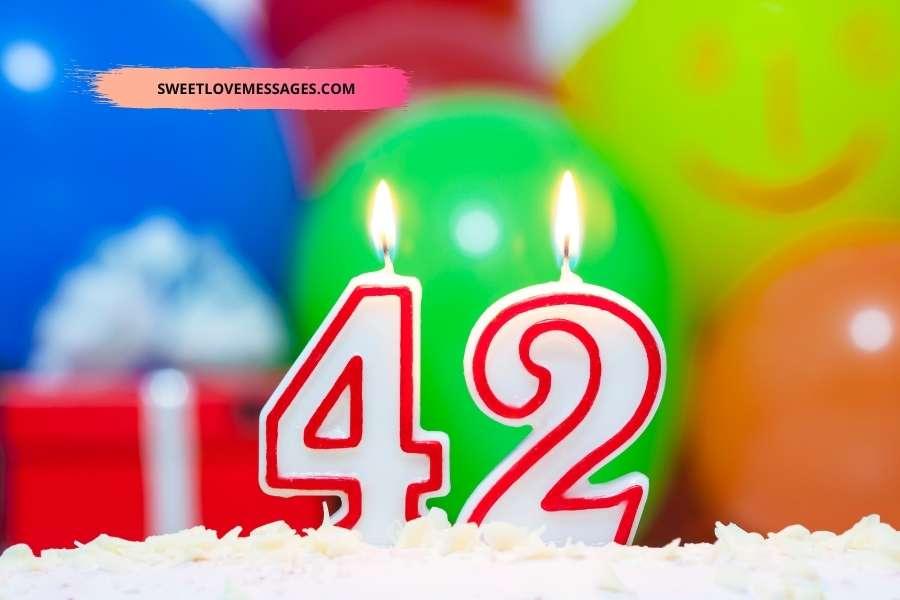 Happy 42nd Birthday Son