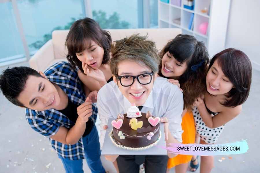 Happy Birthday Messages for Teenage Son