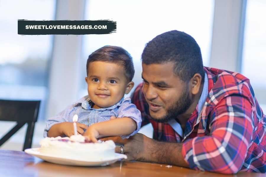 Birthday Wishes for Husband and Son Together
